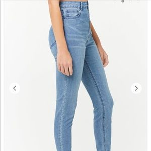 Forever 21 high rise stretch jeans size 31